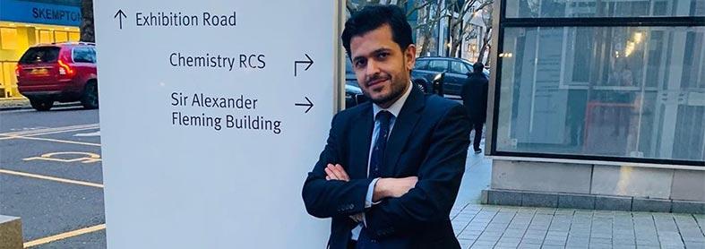 دکتر امیرحسین سام رئیس مدرسه پزشکی دانشگاه امپریال کالج لندن