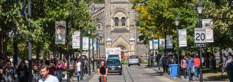 بورسیه تحصیلی کانادا - مقطع کارشناسی دانشگاه تورنتو